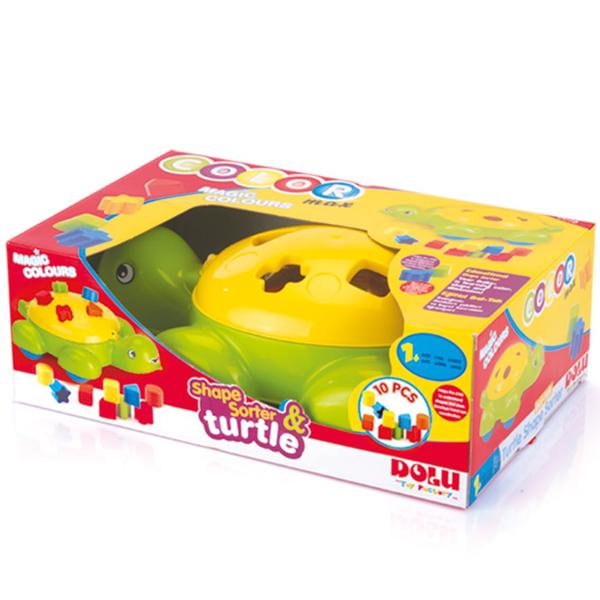 Kornjača didaktička Dolu 060167 - ODDO igračke