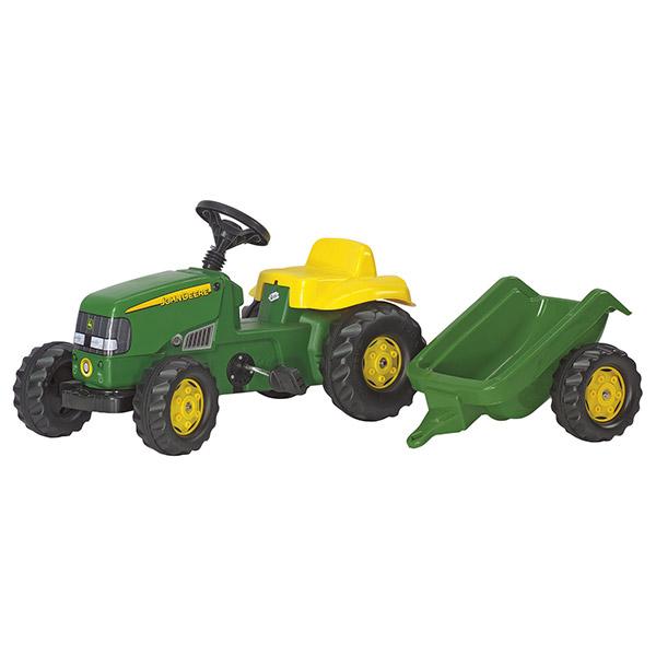 Traktor Rolly kid John Deere  prikolica 012190 - ODDO igračke
