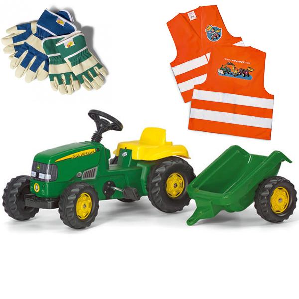 Traktor Rolly kid John Deere i prikolica 012190 - ODDO igračke