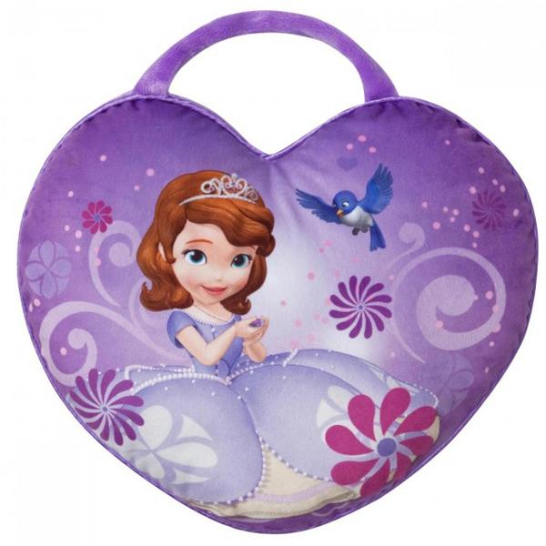 Jastuk srce s ručkom Sofia 36x30cm 60-222000 - ODDO igračke