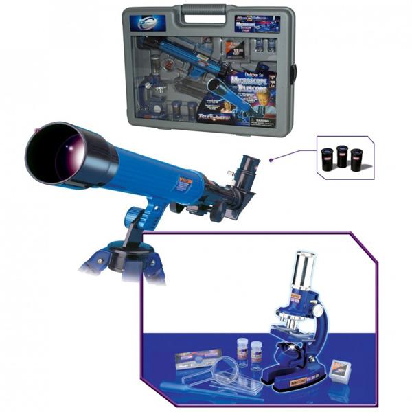 Set mikroskop i teleskop na baterije 63-415000 - ODDO igračke