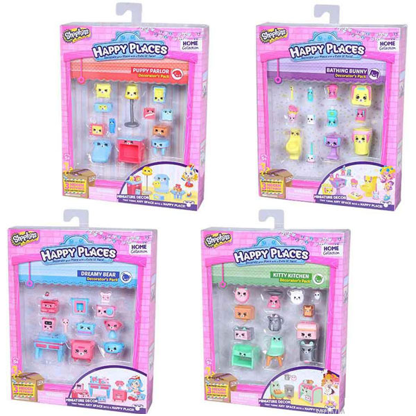 Shopkins Happy Places za dekoraciju ME56195 - ODDO igračke