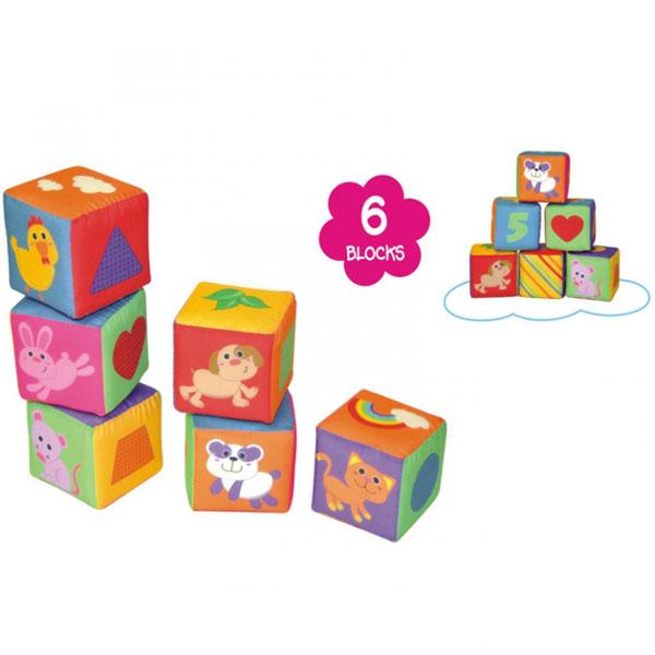Plišane kocke za bebe Parkfield 81362 - ODDO igračke