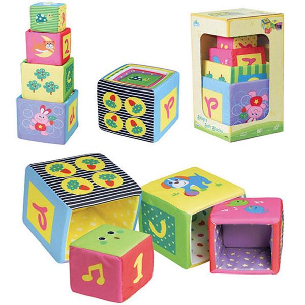 Plišane kocke slagalice za bebe Parkfield 81439 - ODDO igračke