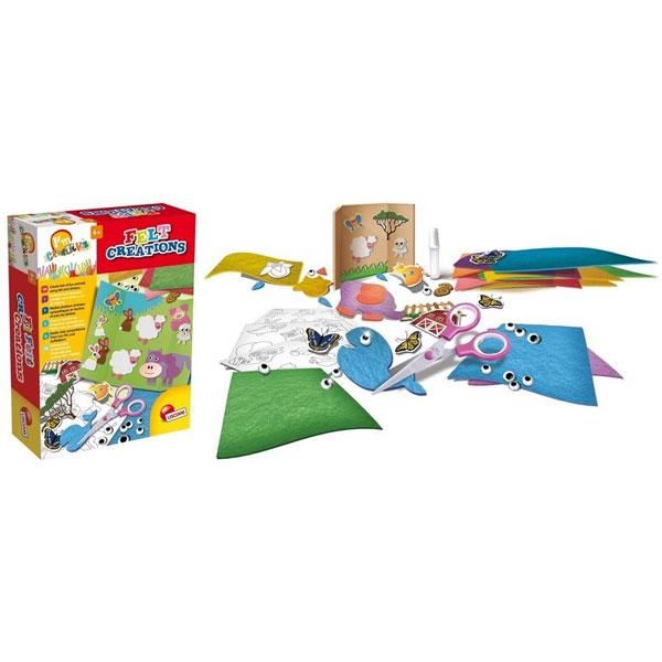 Kreativni set Napravi od platna Lisciani 47673 - ODDO igračke