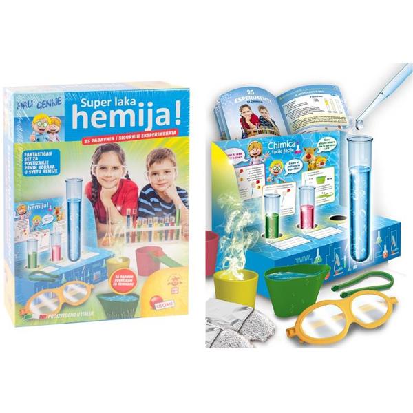 Mali Genije na srpskom Edukativni set Super laka hemija RS63116 - ODDO igračke