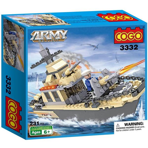 COGO Kocke Army Action 533324 - ODDO igračke