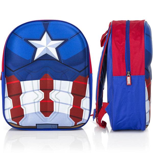 Avengers Capetan America Ranac 3D 32x26x10cm CAP3-8114 - ODDO igračke