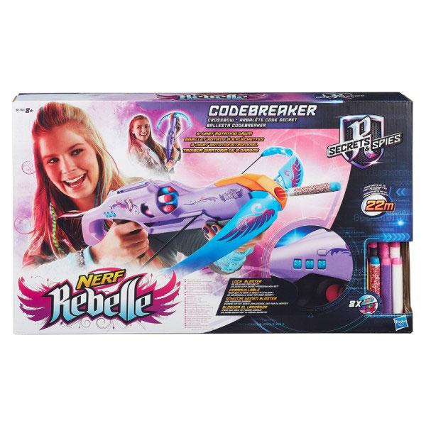 Nerf Rebelle Codebreaker samostrel B1703 - ODDO igračke