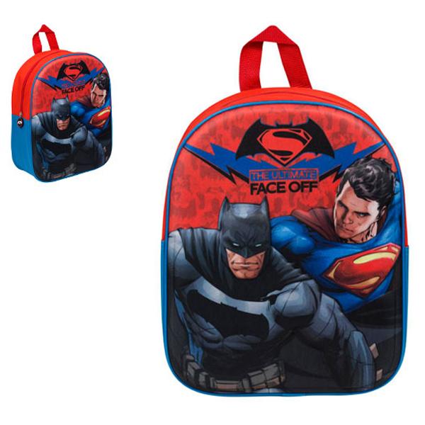 Batman vs Superman Ranac 3D 32x26x10cm BVS-8114-B - ODDO igračke