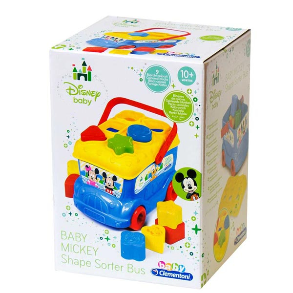 Autobus sa kockama Clementoni Mickey Mouse CL14395 - ODDO igračke
