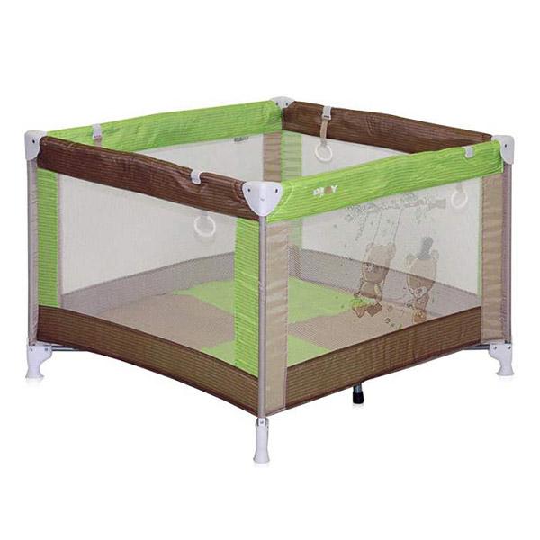 Ogradica za bebe Lorelli Play Beige&Green Bears 10080051629 - ODDO igračke