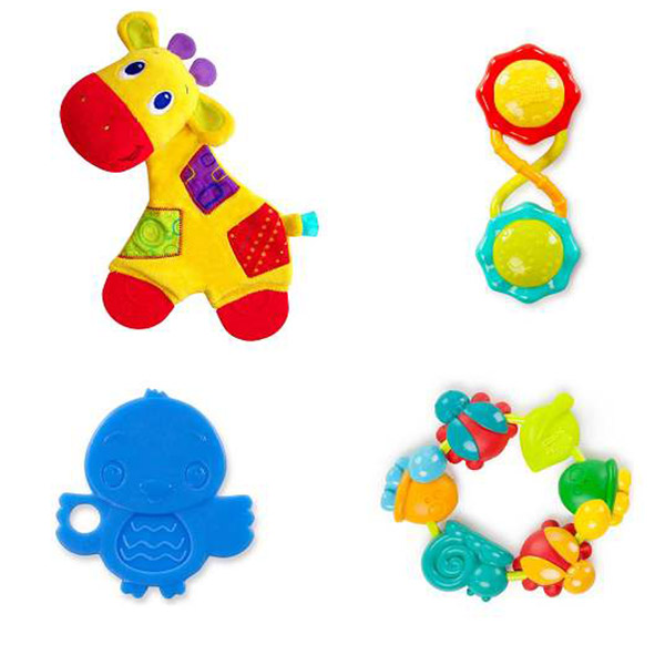 Zvečka Glodalica Teething Fun Gift Set SKU52253 - ODDO igračke