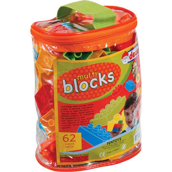 DEDE torbica s kockama (62 kom.) 012538 - ODDO igračke