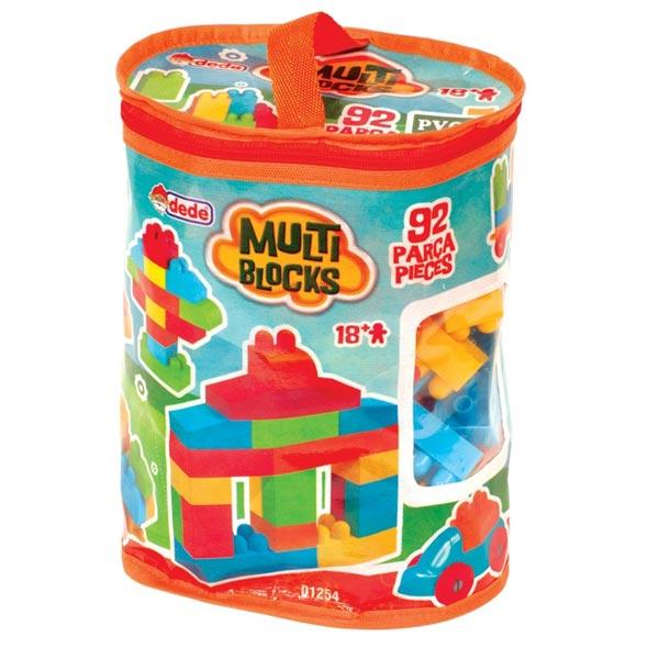 DEDE torbica s kockama (92 kom.) 012545 - ODDO igračke