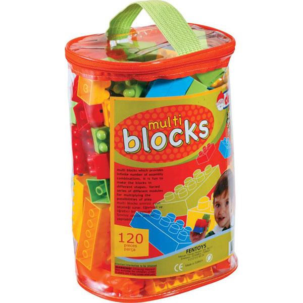 DEDE torbica s kockama (120 kom.) - 012552 - ODDO igračke