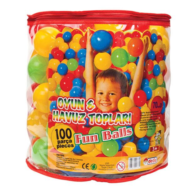 DEDE Loptice manje (100 kom.) - 017335 - ODDO igračke