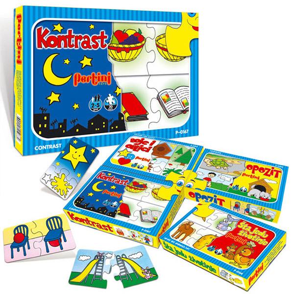 Ko s kim, šta s čim, Kontrast Pertini P-0167 - ODDO igračke