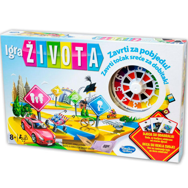 Društvena igra Game of Life 04000 - ODDO igračke