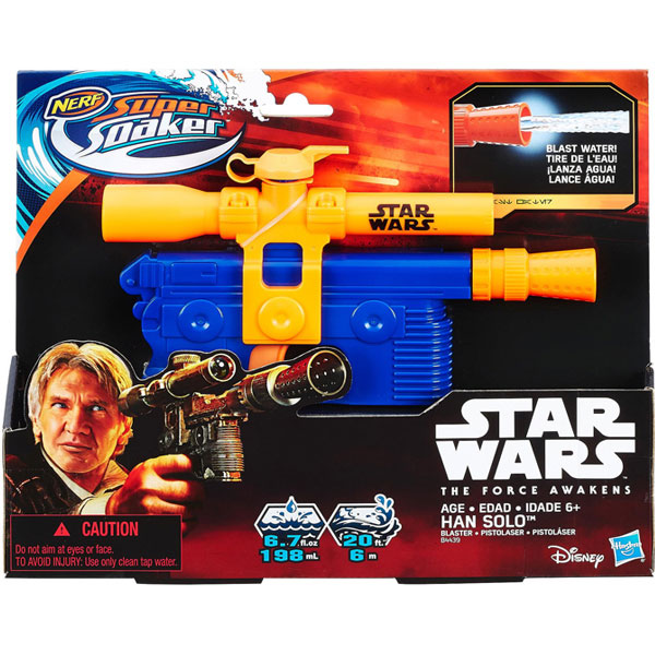 Nerf Puška Na Vodu Super Soaker Hans Solo B4439 - ODDO igračke
