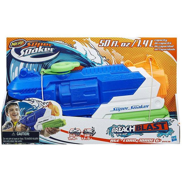 Nerf Super Soaker Breach Puška Na Vodu B4438 - ODDO igračke