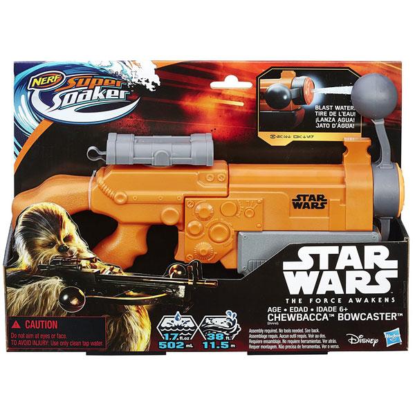 Nerf pištolj na vodu Super Soaker Chewbacca Bowcaster B4446 - ODDO igračke