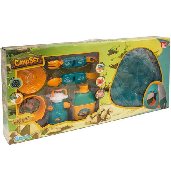 Šator i set za kampovanje Best Luck BE25094 - ODDO igračke