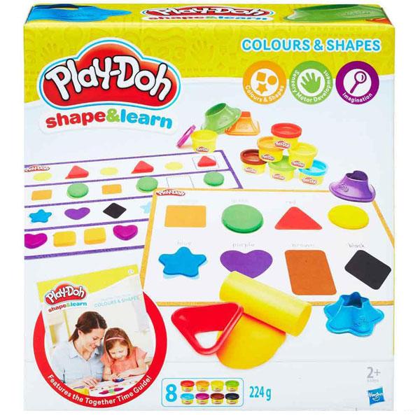Play-Doh plastelin Boje i oblici B3404 - ODDO igračke