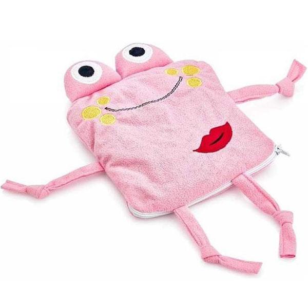 Jastuk, Termofor za Bebe Žabica Pink 92-13662 - ODDO igračke
