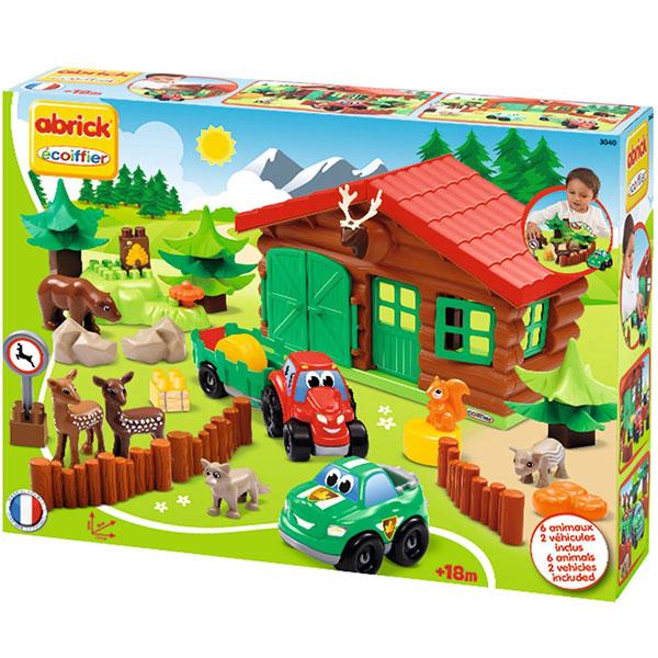 Ecoiffier set Šumska koliba SM003040 - ODDO igračke