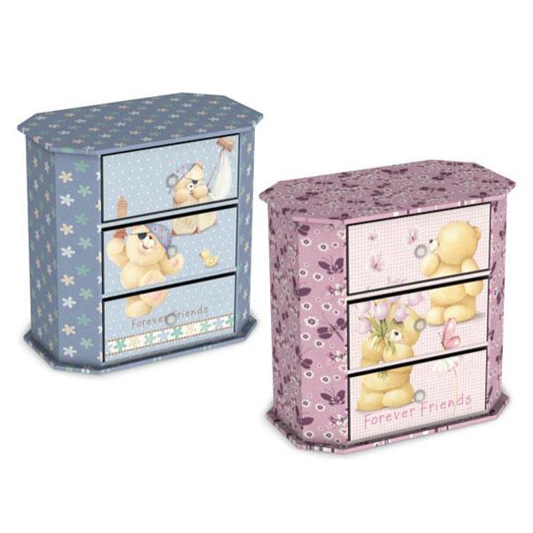 Kutija sa 3 fioke mede - ODDO igračke