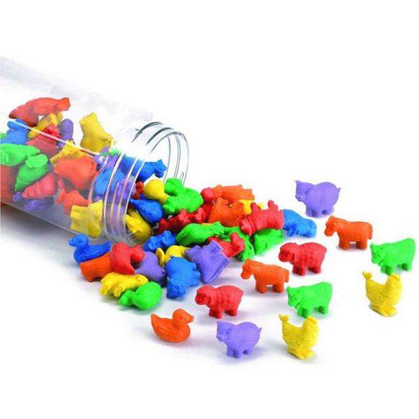Sortiranje-životinje 72kom 13200J - ODDO igračke