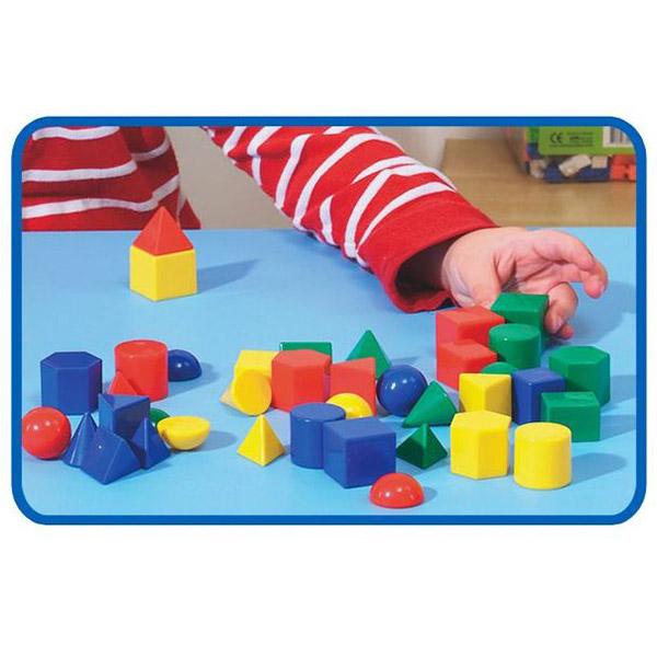 Geometrijska tela PVC 40 elemenata 21354 - ODDO igračke