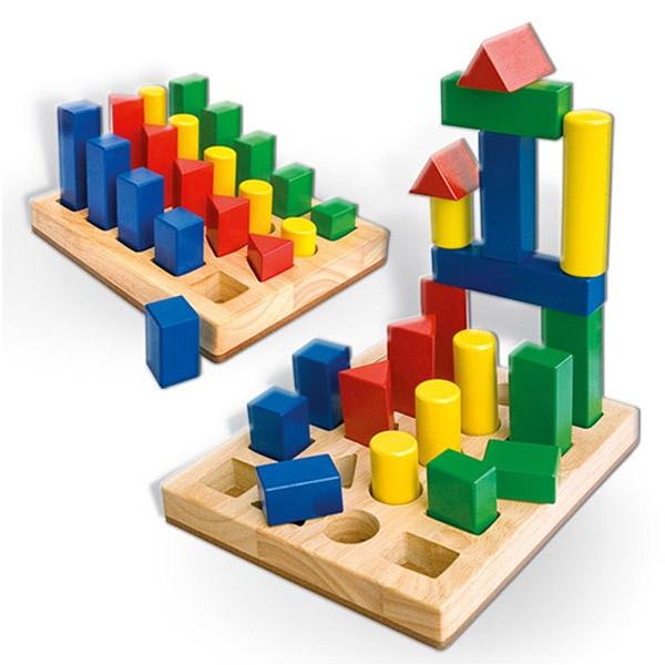 Geometrijska umetaljka oblici i boje 58713 - ODDO igračke