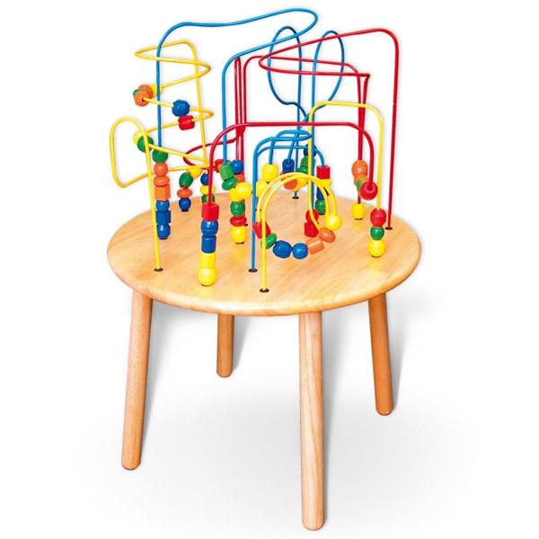 Viga Drveni Stočić Rolokoster 55258R 5368 - ODDO igračke