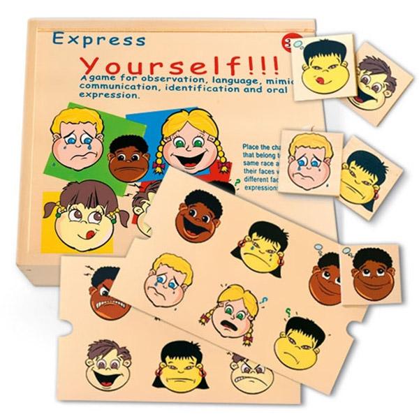 Učimo izraze lica 56289 - ODDO igračke