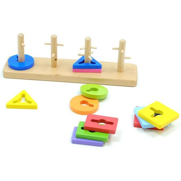 Drvene Lavirint puzzle 50968 - ODDO igračke