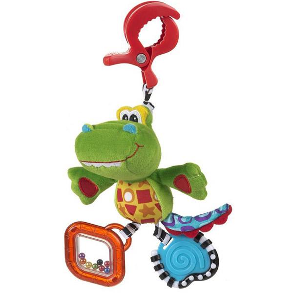 Zvečka PlayGro štipaljka Aligator 182855 - ODDO igračke