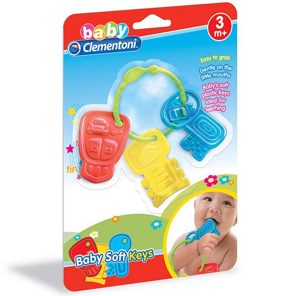 Glodalica Clementoni Baby Ključevi CL17057 - ODDO igračke