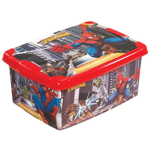 Kutija Spiderman  DEDE  ( 7 litara ) 016123 - ODDO igračke