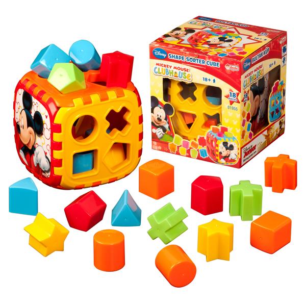 DEDE Didaktička kocka Mickey 019551 - ODDO igračke