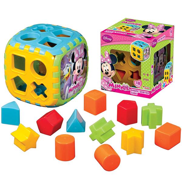 DEDE Didaktička kocka Minnie 019957 - ODDO igračke