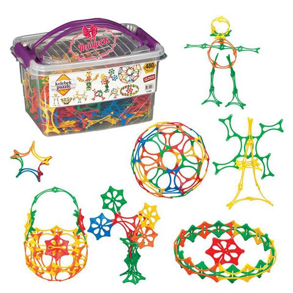 DEDE Slagalica 480 elemenata 019063 - ODDO igračke