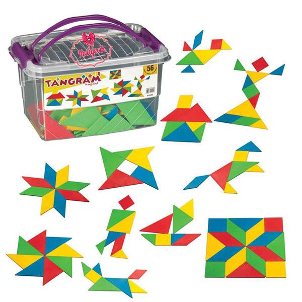 DEDE Slagalica 56 elemenata 019407 - ODDO igračke