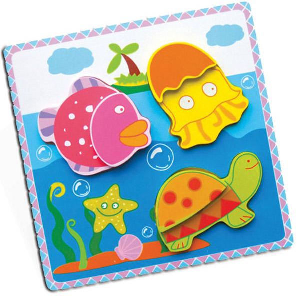 Viga Drvena Umetaljka 2 nivoa Vodeni Svet 59305 - ODDO igračke