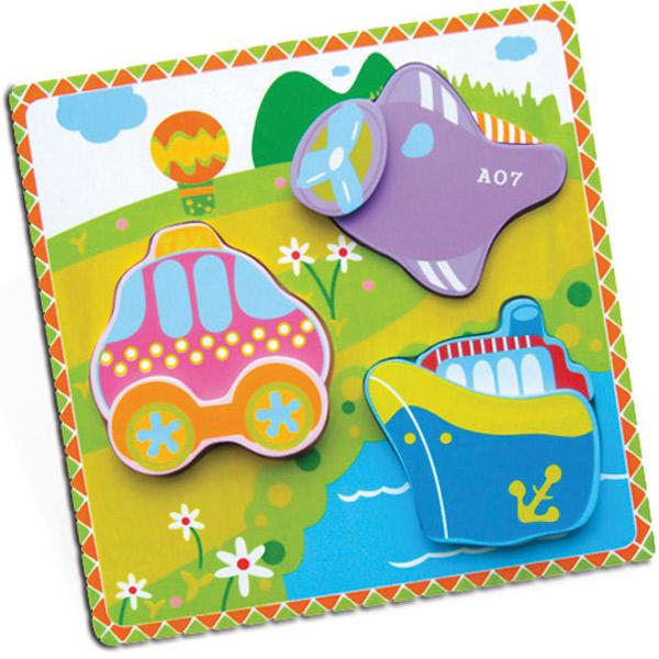 Viga Drvena umetaljka na 2 nivoa Saobraćaj 59306 - ODDO igračke