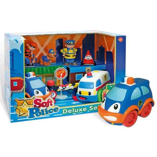 Mekani police deluxe set 1514 - ODDO igračke
