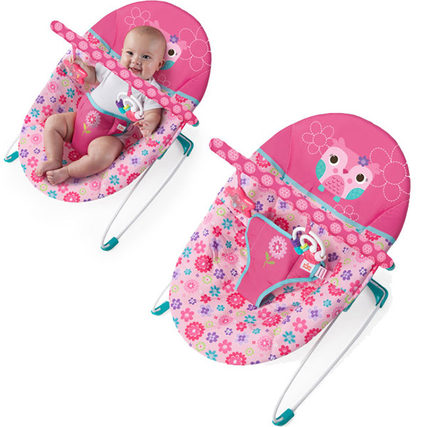 Kids II Ležaljka Happy Flowers SKU10173 - ODDO igračke