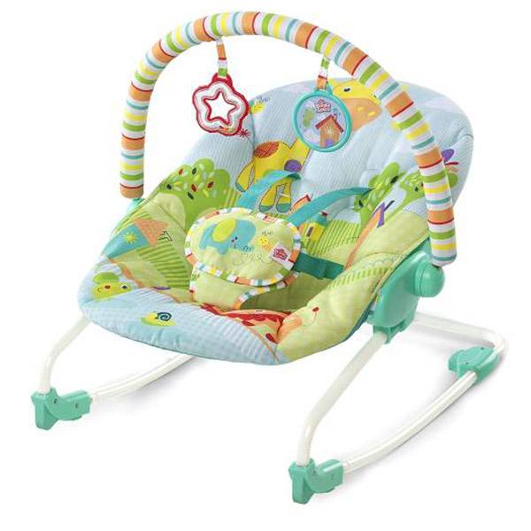 Kids II Ležaljka Snuggle Jungle SKU60340 - ODDO igračke