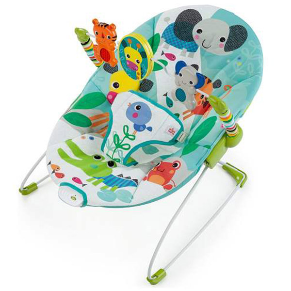 Kids II Ležaljka Jungle Stream SKU60700 - ODDO igračke